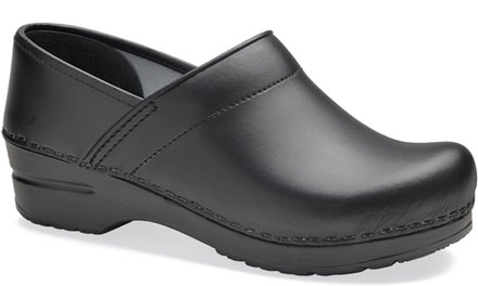 a8ff81d931e5 Dansko Professional Clog for Women in Box Leather- Wide Widths