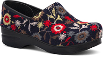 Dansko Felt Pro Clog for Women in Navy Floral