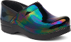 Dansko Professional Clog For Women in Petrol Patent