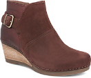 Dansko Shirley Ankle Boot for Women in Wine