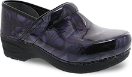 Dansko Pro XP 2.0 Clog for Women in Filigree Floral Patent