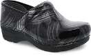 Dansko Pro XP 2.0 Clog for Women in Pewter Brush Patent