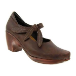 Naot Pleasure Shoe for Women in Toffee 41