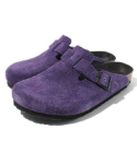 Birkenstock Boston Clog for Kids in Amethyst 33N