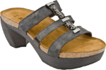 Naot Bond Sandal for Women in Black Pearl 36