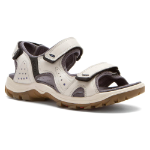 Ecco Cheja Sandal for Women in Shadow White 36