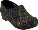 Sanita Professional Gwenore Print Clog For Women 37