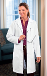 "NYUWMA Embroidered 37"" Women's Labcoat by META"