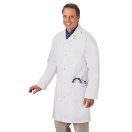 "META 38"" Knot Button Lab Coat for Men"