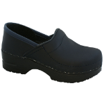 Sanita Gitte Clog for Kids in Blueberry Oiled 30