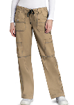 Adar Low Rise Multi Pocket Pants for Women