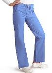Adar Low Rise Boot Cut Bungee Pants for Women
