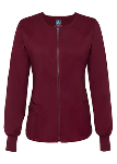 Adar Zip Front Warm-Up Jacket for Women