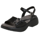 Dansko Lizzie Sandal for Women Black 41