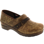 Sanita Texas Clog For Women Brown 36-38