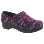 Sanita Tapestry Vegan Clog For Women 35-38