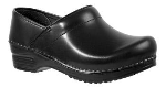 Sanita Professional Clog in Cabrio Leather for Women in Wide Widths