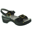 Sanita Davia Sandal for Women in Black 38