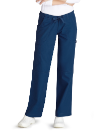 NYUWMA-510 Women's Straight Leg Pant-Navy