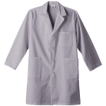 "META 40"" Unisex Lab Coat in Silver"