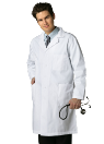 "NYUWMA Embroidered 39"" Men's Labcoat"
