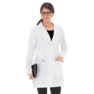 "META 32"" Pro Buckle Tri-Blend Stretch Lab Coat for Women"