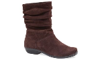 Dansko Olga Boot for Women in Chocolate Suede 36,37