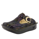Alegria Classic Chained Gold Clog for Women