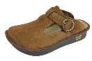 Alegria Classic Choco Shearling Clog for Women