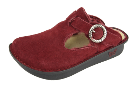 Alegria Classic Burgundy Shearling Clog for Women