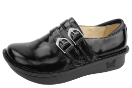 Alegria Alli Black Waxy Shoe for Women