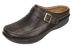 Alegria Chairman Shoe in Dark Brown Wax Tumbled for Men