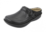 Alegria Chairman Shoe in Black Nappa for Men