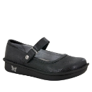 Alegria Belle Black Swirl Shoe for Women