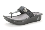 Alegria Carina Sandal in Black Nappa for Women