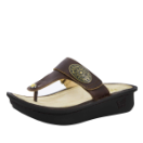 Alegria Carina Sandal in Hickory for Women