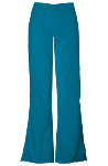 NYUWinthrop Cherokee Flare Leg Draw String Pants TALL 4101T Caribbean Blue