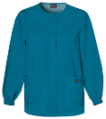 Winthrop Cherokee Warm-Up Snap Front Jacket 4350 Caribbean Blue