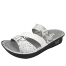 Alegria Colette Sandal for Women in Posh Silver 39