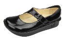 Alegria Dayna Black Waxy Shoe for Women