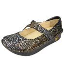 Alegria Dayna Leopard Stripes Shoe for Women