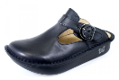 Alegria Classic Black Nappa Clog for Women