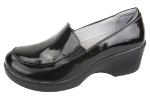 Alegria Emma Shoe for Women in Black Waxy