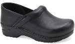 Dansko Gitte Clog for Kids in Black Oil 24