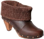 Sanita Hanna Cone Ankle Boot in Oiled Leather