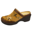Alegria Isabelle Shoe for Women in Embroidery Tan