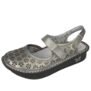 Alegria Jemma Sandal for Women in Pewter Easy