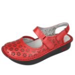 Alegria Jemma Sandal for Women in Red Butter