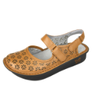 Alegria Jemma Sandal for Women in Cognac Burnish