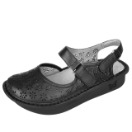 Alegria Jemma Sandal for Women in Black Burnish